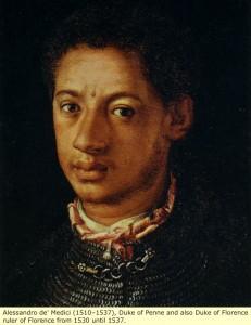 Aleksander Medyceusz, Książę Florencji